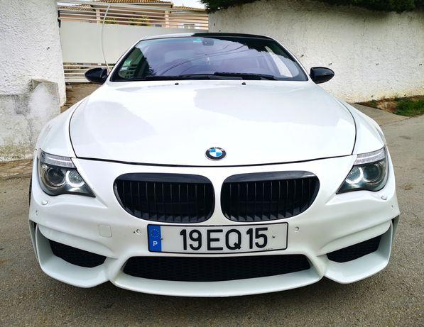 BMW 635D branco perola - Nacional