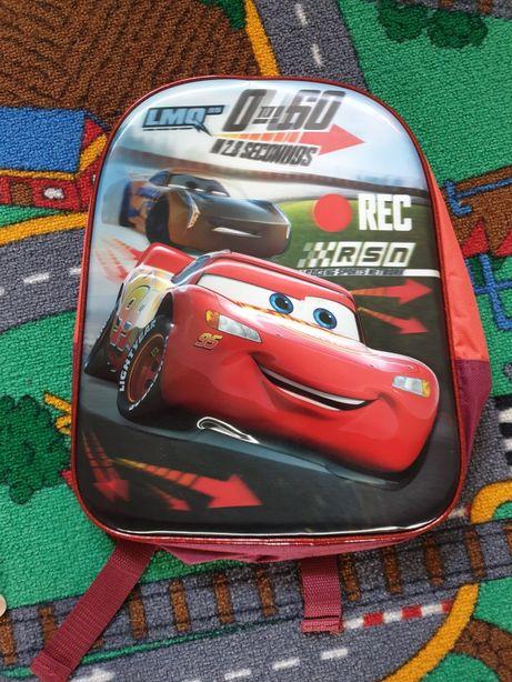 Nowy plecak auta Zygzak McQueen
