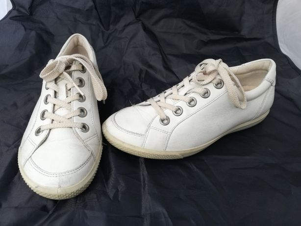 Buty skórzane Ecco r. 36 , wkładka 23,5 cm
