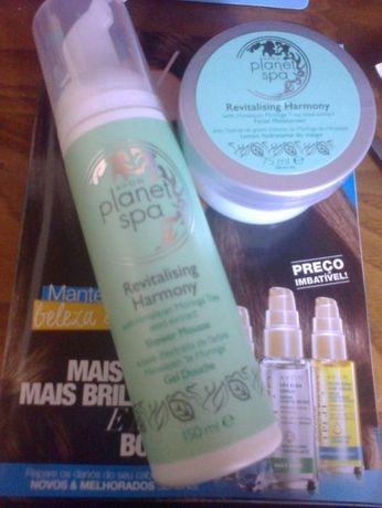 Conjunto Avon - Planet spa (mousse+ creme facial) OPORTUNIDADE