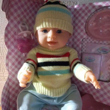 Кукла аналог Беби берн (2 соски)