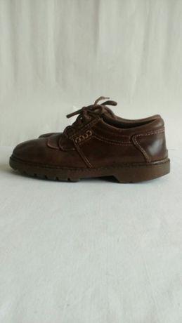 Туфли подростковые на мальчика кожа размер 37