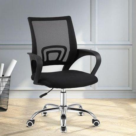 Кресло офисное Larg B-619 - 4 цвета / тканевое кресло