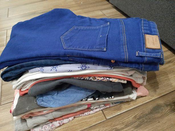 Zestaw ubrań dla dziewczynki roz.146