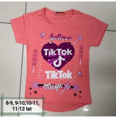 Koszulka dla dziewczynki 8-9, 9-10, 10-11, 11-12 lat, nowa