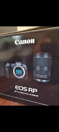 Canon EOS RP zestaw 24-240 jak nowy