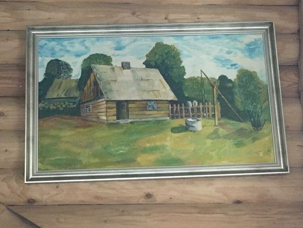 Sprzedam własnoręcznie malowany obraz