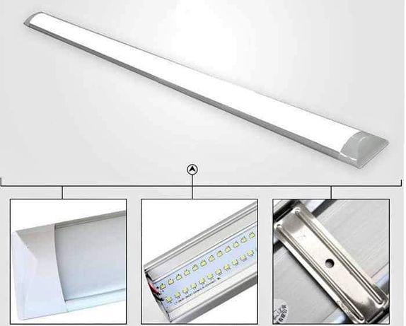 Lampa Natynkowa LED 36W 120cm do Mieszkania Garażu Świetlówka 230V