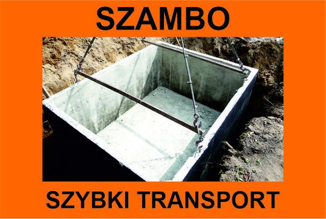 SZAMBO betonowe TRANSPORT GRATIS (do 3 dni) - Trójmiasto, Kaszuby