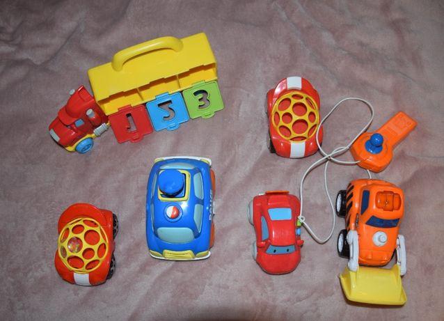 Zestaw zabawek autek dla dziecka