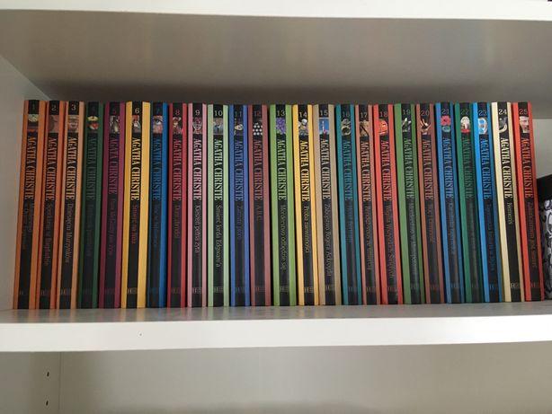 Agata Christie cala seria kryminał 25 tytułów stan idealny Hachette