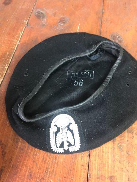 beret czarny wojskowy rozmiar 56