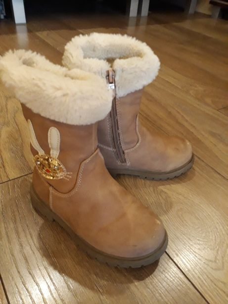 Buty jesienno-zimowe dla dziewczynki Nelli Blue r. 26