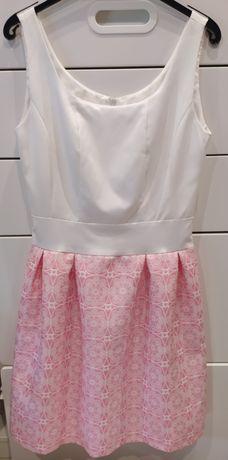 Sukienka koloru różowego