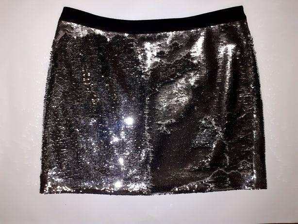 Фирменная оригинальная юбка Ted Baker паетки как Guess Zara