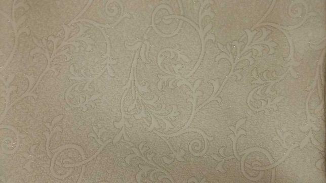Ślubny material na garsonke/sukienkę w kolorze ecru