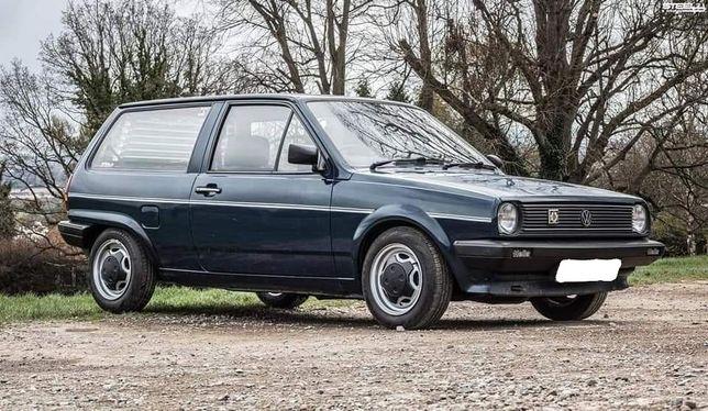 VW Polo Fox BreadVan 1989