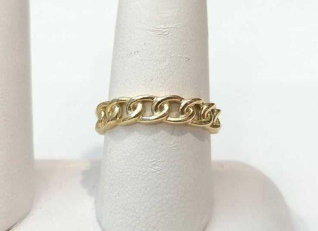 Złoty pierścionek próby 333 waga 1,61g. Rozmiar 15