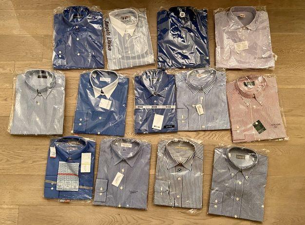 Koszule roz. 41 nowe 13 sztuk