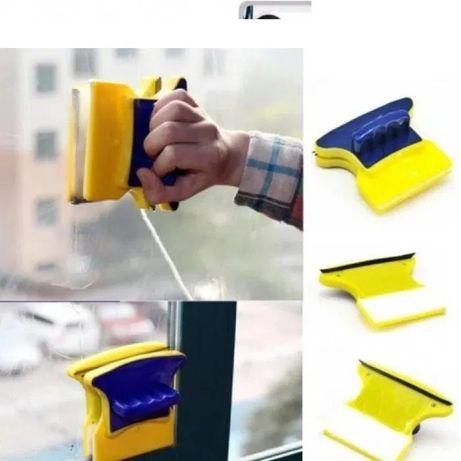 Щетка магнитная для мытья окон с двух сторон для окон толщиной 2-8 мм