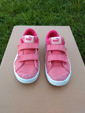 Buty Puma dziewczęce rozmiar 31 - 18,5 cm