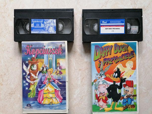 Bajki VHS Kopciuszek oraz Daffy Duck i przyjaciele