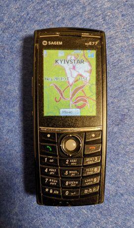 Мобільний телефон Sagem myE77