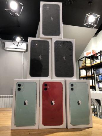 Новий iPhone 11 64gb/128gb Neverlock Безкоштовна Гарантія 12 міс
