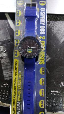 relógio de ponteiros wd-40