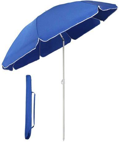 OUTLET parasol przeciwsłoneczny Ø 160 cm ogrodowy turystyczny okrągły