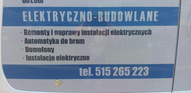 Elektryk,24/H naprawy,instalacje elektryczne