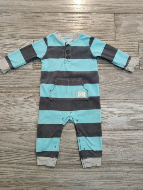 Теплая пижама комбинезон Carter's на 9 месяцев