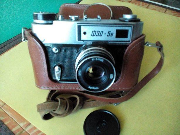 """Фотоаппарат """"Фэд-5В"""" дальномерный пленочный с объективом """"Индустар-61"""""""