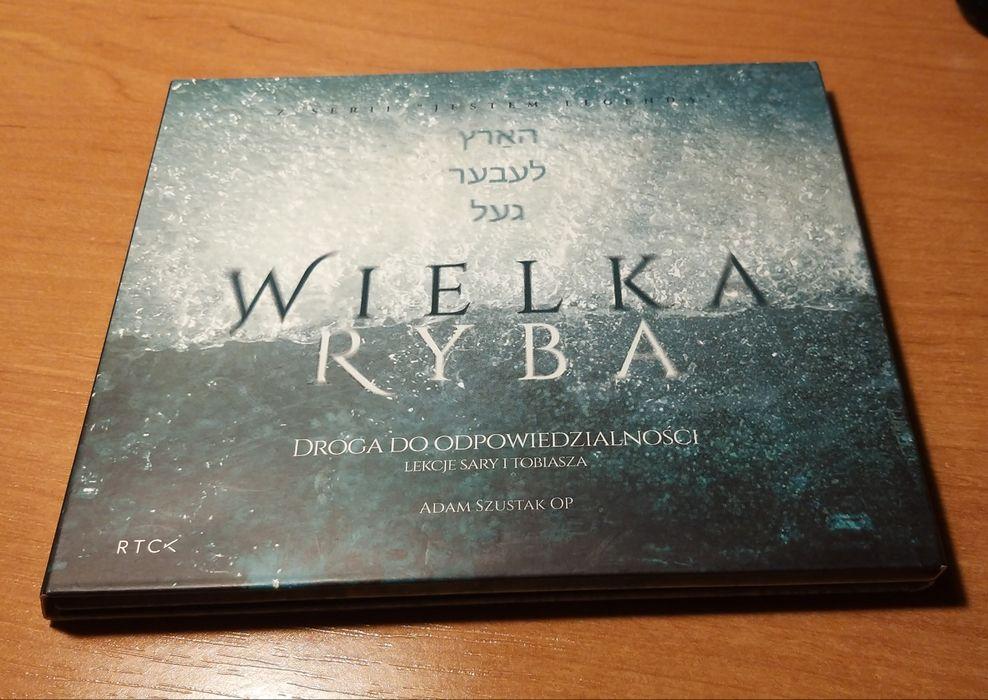 Wielka Ryba Adam Szostak płyta mp3 audiobook lekcje nauka dusza rtck Tarnów - image 1