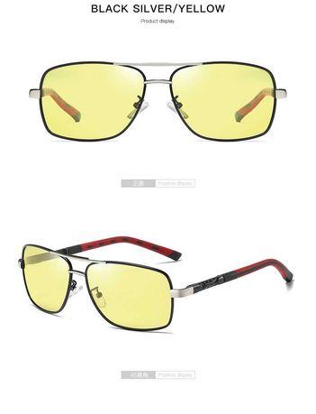 Очки для вождения жёлтые.