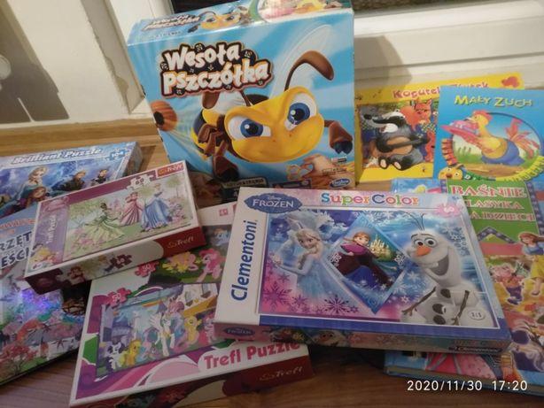 Zestaw zabawek Wesoła Pszczółka puzzle okazja