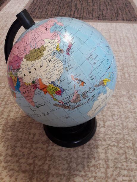 Глобус диаметр 22 см.
