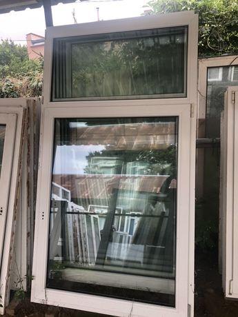 Okna uzywane jednoskrzydłowe 113 x 209