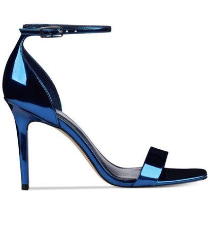 Guess metallic blue sandals