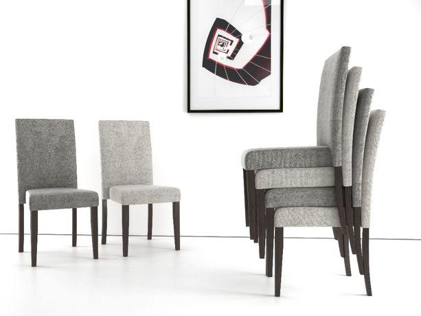 Krzesło tapicerowane sztaplowane 28S