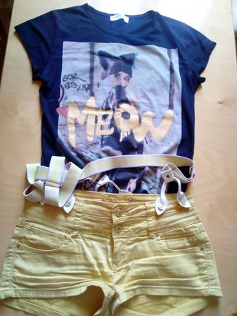 Spodenki +t-shirt M