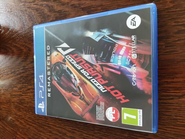 Gra NFS Need for speed Hot Pursuit remastered PS4 PL