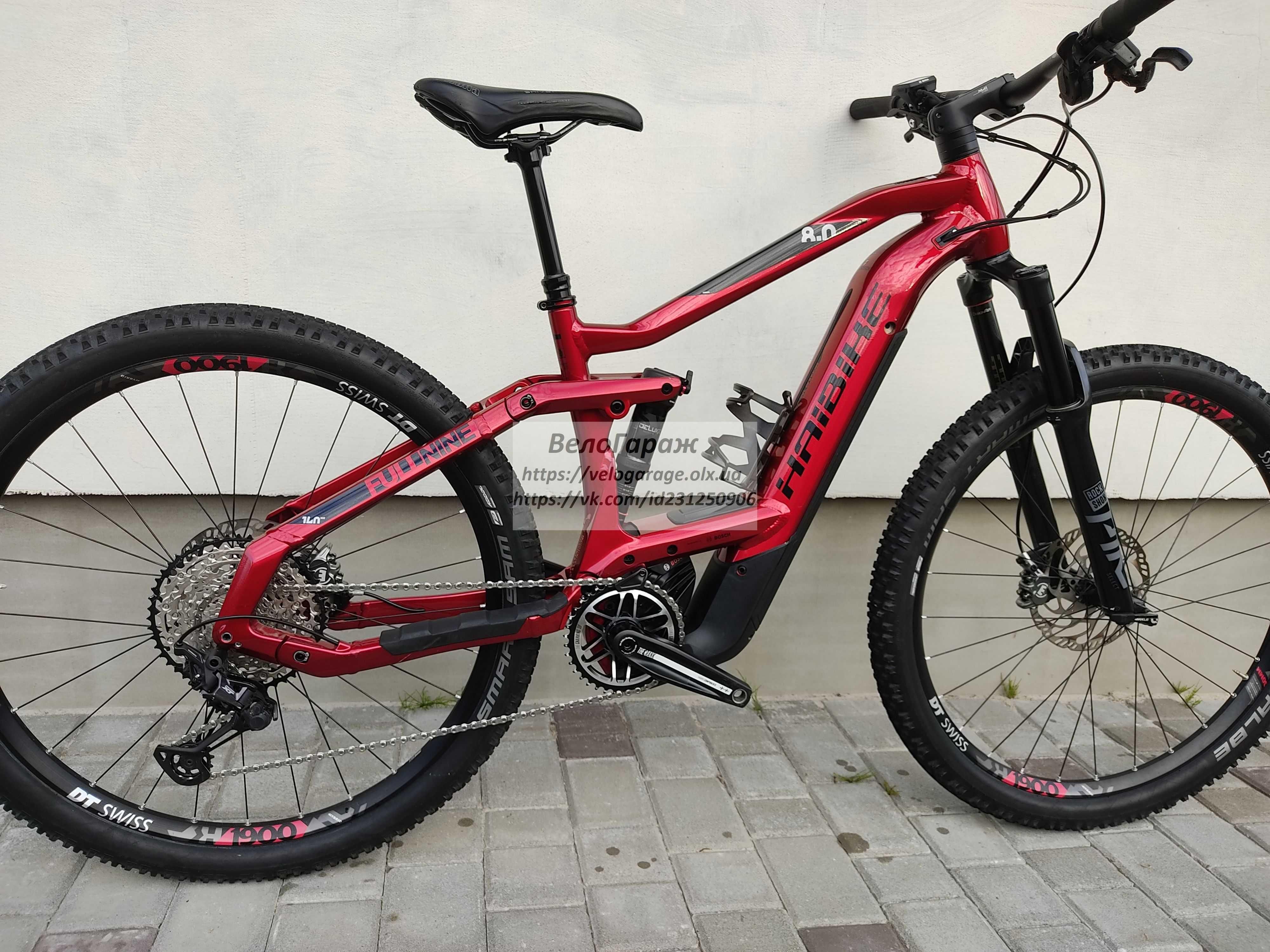 Haibike SDURO FullNine 8.0 e-bike электровелосипед електро