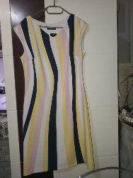 Sukienka paski kolorowe