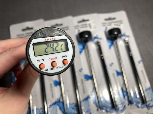 Цифровой кухонный/кулинарный термометр для еды/жидкостей/мяса ТР100