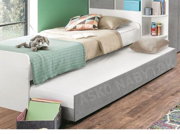 Nowe łóżko podwójne z dostawką 90x200 młodzieżowe dziecięce