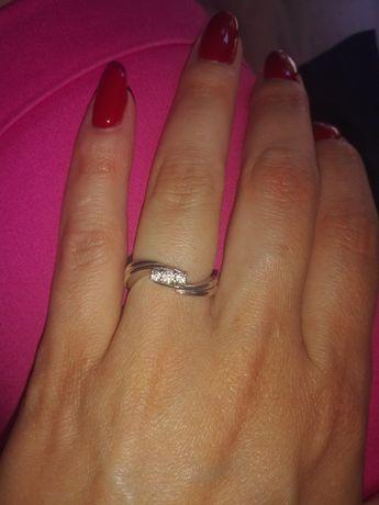 Srebrny pierścionek rozm 13