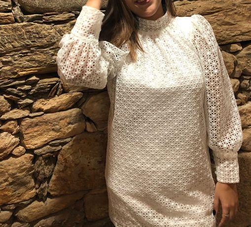 Vestido branco Kaôa