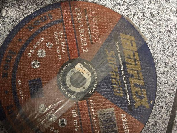 10 Discos rebarbadeira 230mm x 1.9