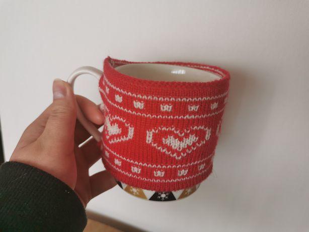 Sweterek na kubek